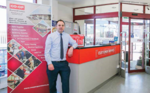 Eamon Kelleher, Store Manager, Co-Op Superstores, Carrigaline, Co. Cork