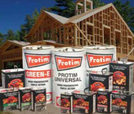 Protim wood protection